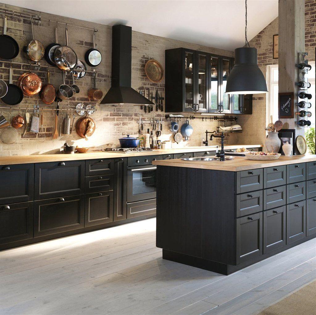 Full Size of Ikea Küchen Little Black Kitchens Haus Kchen Modulküche Küche Kaufen Sofa Mit Schlaffunktion Betten 160x200 Regal Kosten Miniküche Bei Wohnzimmer Ikea Küchen