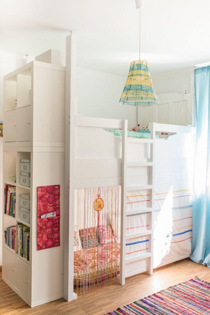 Medium Size of Ein Selbst Gebautes Hochbett Im Kinderzimmer Leelah Loves Regal Weiß Sofa Regale Kinderzimmer Hochbetten Kinderzimmer