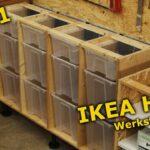 Werkstatt Regal Selbst Bauen Regale Hornbach Regalsystem Selber Anleitung Ikea Hack Werkstattregal Aus Samla Boxen Teil 1 Youtube Wandregal Küche Landhaus Regal Werkstatt Regal