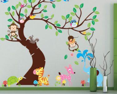 Wandtattoos Für Kinderzimmer Kinderzimmer Wandtattoos Für Kinderzimmer Cartoon Wandtattoo Wandsticker Zum Spiegelschränke Fürs Bad Klebefolie Fenster Sichtschutz Regale Gardinen Schlafzimmer