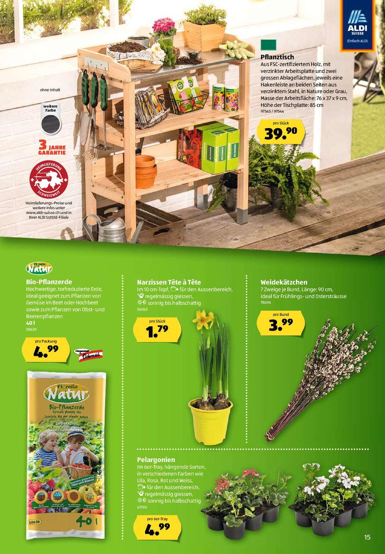 Full Size of Hochbeet Aldi Prospekte Seite No 15 48 Gltig Von 213 Bis 2732019 Garten Relaxsessel Wohnzimmer Hochbeet Aldi