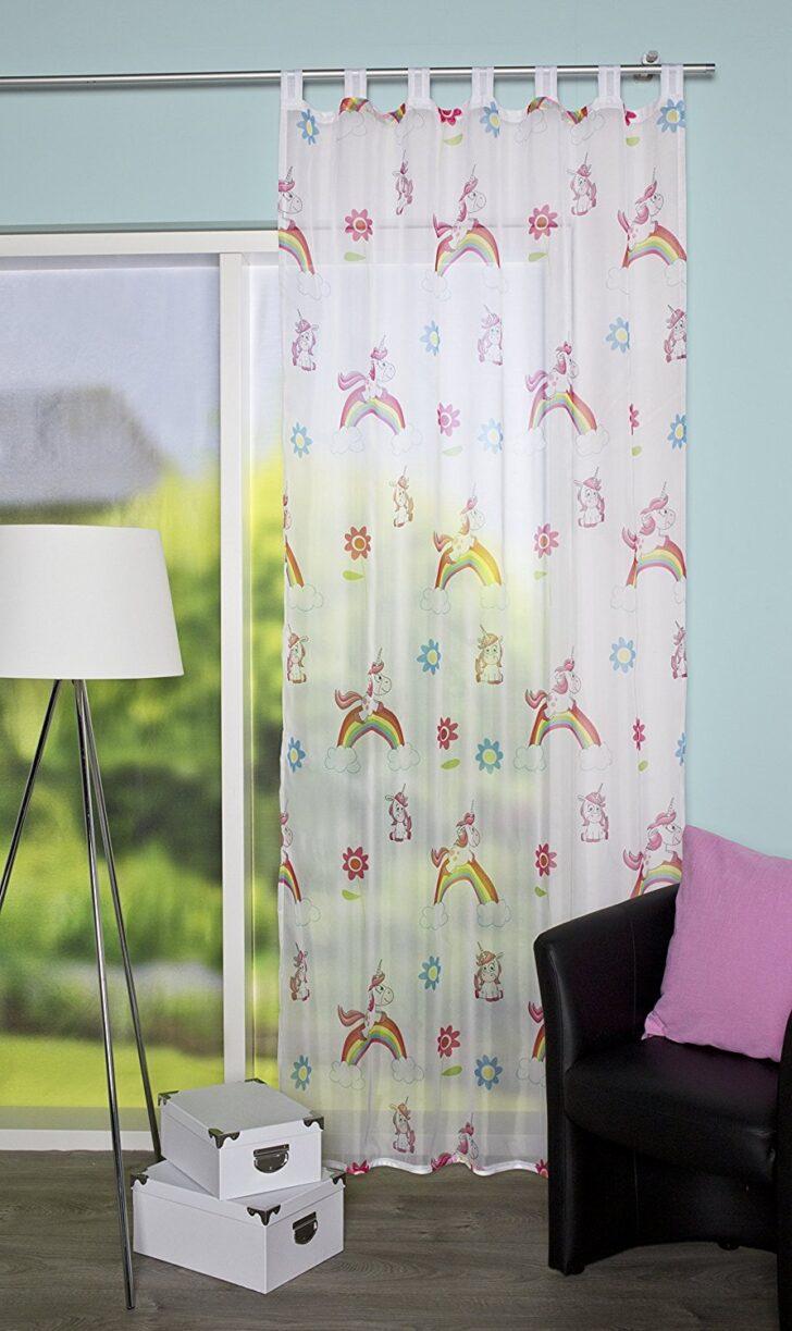 Medium Size of Schlaufenschal Einhorn Motiv Kinderzimmer Vorhang Gardine Regal Sofa Weiß Regale Kinderzimmer Schlaufenschal Kinderzimmer