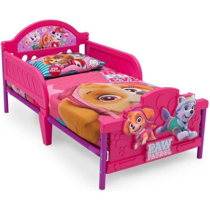 Medium Size of Delta Children Kinderbett 70x140 Paw Patrol Skye Knirpsenland Mädchen Betten Bett Wohnzimmer Kinderbett Mädchen