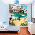 Piraten Kinderzimmer Kinderzimmer Fototapete Kinderzimmer Piraten Schatzinsel Tapetenwelt Regal Weiß Regale Sofa