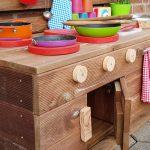 Kinderkche Matschkche L Natur Aus Holz Modul Plus Paletteryde Landhausküche Wandtattoo Küche Magnettafel Kleine Einbauküche Mischbatterie Wohnzimmer Paletten Küche
