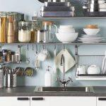 Ikea Eine Aufgerumte Kche Durch Clevere Wandregal Lsungen Bad Küche Landhaus Küchen Regal Wohnzimmer Küchen Wandregal