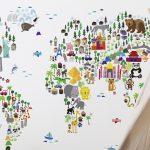 Kinderzimmer Tapete Kreativ Im Tapeten Selbst Gestalten Lunamagde Fototapete Schlafzimmer Regal Weiß Regale Fototapeten Wohnzimmer Küche Ideen Fenster Für Wohnzimmer Kinderzimmer Tapete