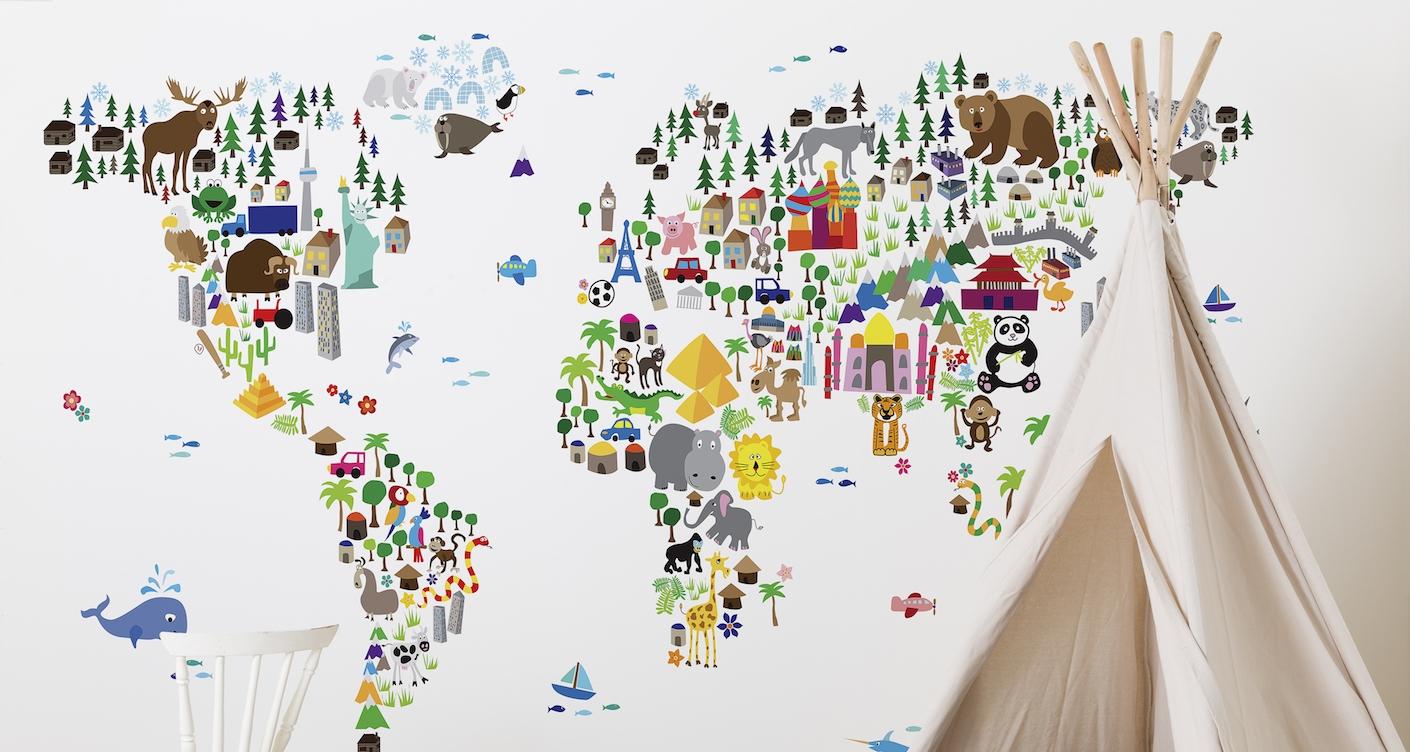 Full Size of Kinderzimmer Tapete Kreativ Im Tapeten Selbst Gestalten Lunamagde Fototapete Schlafzimmer Regal Weiß Regale Fototapeten Wohnzimmer Küche Ideen Fenster Für Wohnzimmer Kinderzimmer Tapete