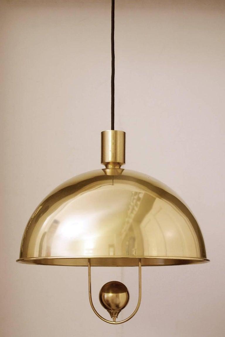 Full Size of Sehr Seltene Messing Hngelampen Deckenlichter Von Florian Schulz Wohnzimmer Hängelampen
