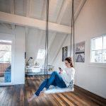 Schaukel Erwachsene Balkon Holz Outdoor Metall 150 Kg Hoch Garten Indoor Wohnung Pin Auf Für Kinderschaukel Schaukelstuhl Wohnzimmer Schaukel Erwachsene