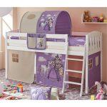 Thumbnail Size of Kinderbett Mädchen Mdchen Ashly Mit Tunnel In Lila Halbhoch Pharao24de Bett Betten Wohnzimmer Kinderbett Mädchen