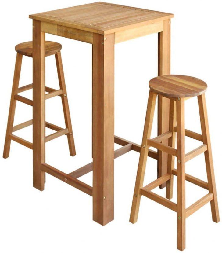 Medium Size of Amazonde Festnight Bartisch Und Hocker Set 3 Tlg Stehtisch Wohnzimmer Küchenbartisch