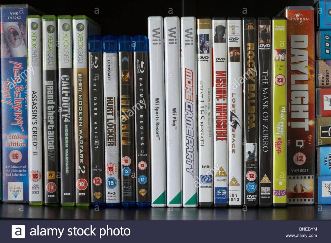 Large Size of Blu Ray Regal Reihe Von Dvd Vhs Video Hllen Und Wii Xbox360 Wein Regale Kaufen Werkstatt Weiß Holz Cd Weiße Aus Kisten Hochglanz Graues Weißes Eiche Kleine Regal Blu Ray Regal