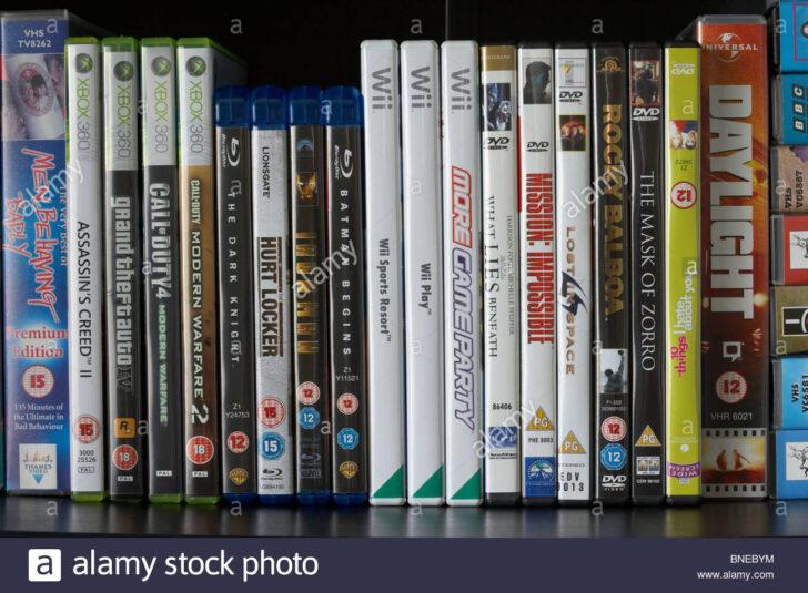 Medium Size of Blu Ray Regal Reihe Von Dvd Vhs Video Hllen Und Wii Xbox360 Wein Regale Kaufen Werkstatt Weiß Holz Cd Weiße Aus Kisten Hochglanz Graues Weißes Eiche Kleine Regal Blu Ray Regal
