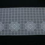 Crocheted Disc Gardine With Flowers Gardinen Küche Für Wohnzimmer Fenster Die Scheibengardinen Schlafzimmer Wohnzimmer Gardine Häkeln