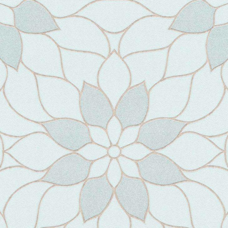 Medium Size of Tapeten Modern Tapete Floral Blau Glitzer Neue Bude 20 Dasherz Fototapeten Wohnzimmer Moderne Esstische Bilder Fürs Landhausküche Deckenleuchte Schlafzimmer Wohnzimmer Tapeten Modern