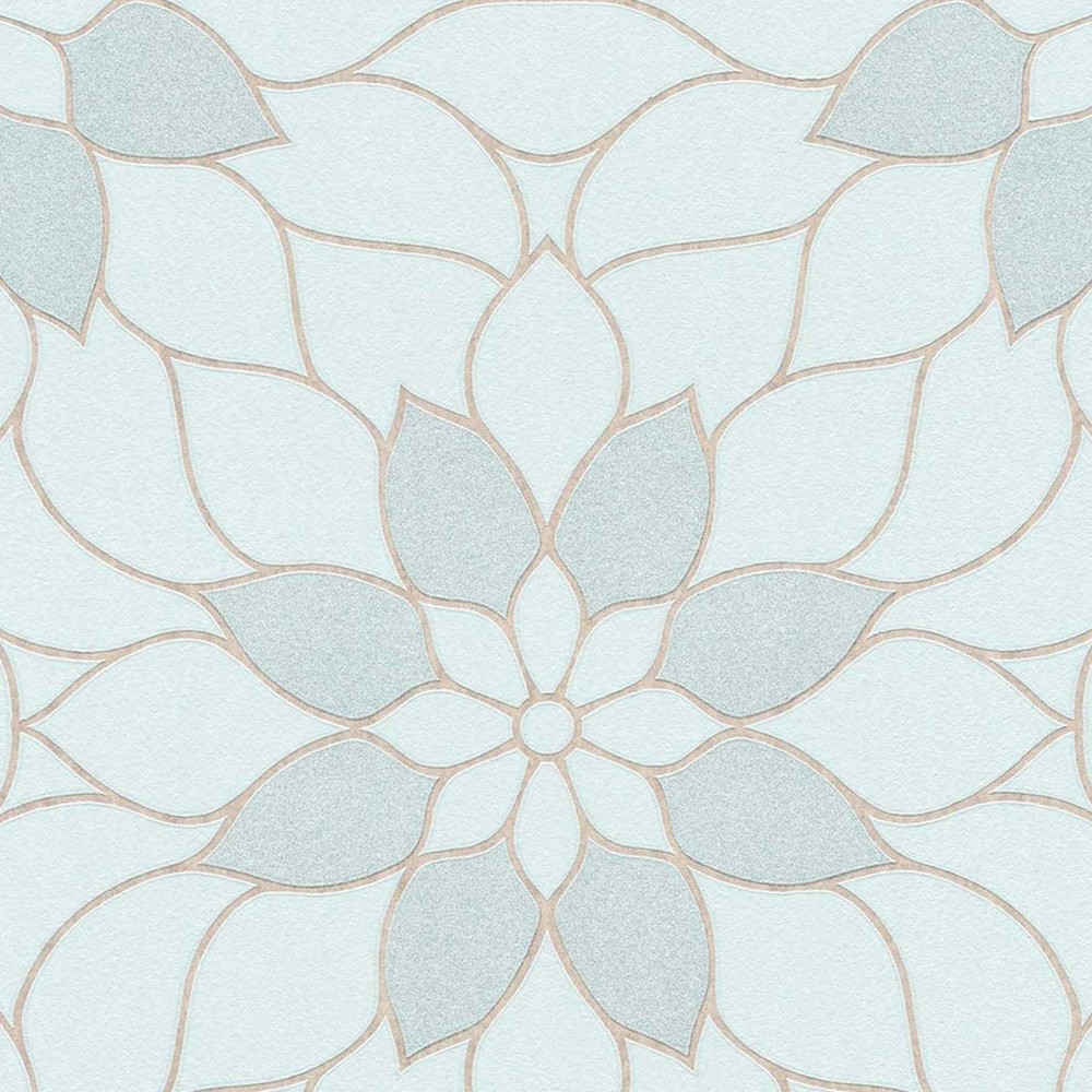 Full Size of Tapeten Modern Tapete Floral Blau Glitzer Neue Bude 20 Dasherz Fototapeten Wohnzimmer Moderne Esstische Bilder Fürs Landhausküche Deckenleuchte Schlafzimmer Wohnzimmer Tapeten Modern