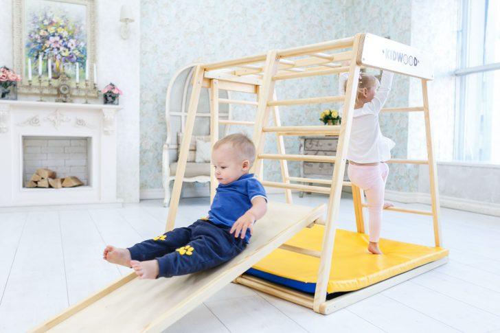 Medium Size of Kidwood Klettergerst Rakete Junior Set Aus Holz 6 Klettergerüst Garten Wohnzimmer Klettergerüst Indoor