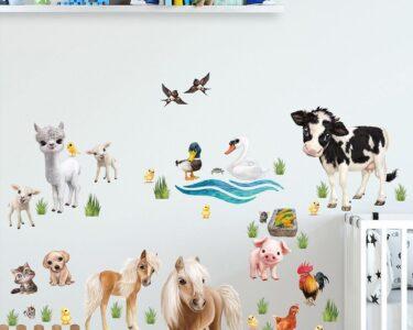 Wandtatoo Kinderzimmer Kinderzimmer Wandtatoo Kinderzimmer Wandtattoo Animal Club International Tiere Auf Regal Küche Sofa Regale Weiß