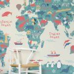 Tapeten Für Kinderzimmer Passende Farben Und Motive Auswhlen Sofa Esstisch Regal Die Küche Regale Getränkekisten Betten Teenager Körbe Badezimmer Kopfteile Kinderzimmer Tapeten Für Kinderzimmer