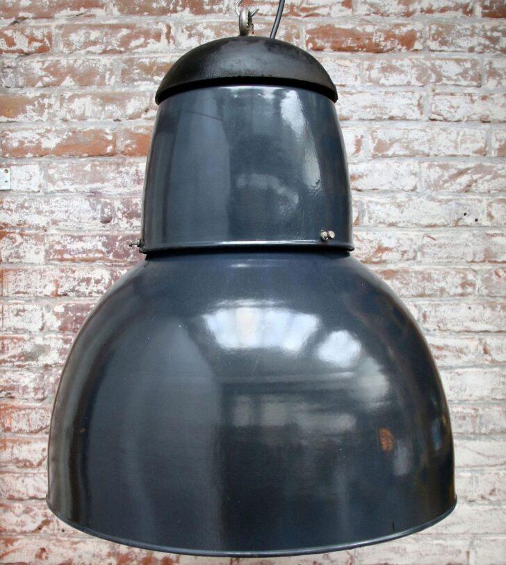 Medium Size of Hängelampen Industrie Schwarze Emaille Pendelleuchte 1960er Jahre Wohnzimmer Hängelampen