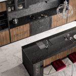 Designerkche Astory Massivholzkche Mit Insel Anthrazit Braun Deckenleuchte Schlafzimmer Modern Modernes Bett Moderne Esstische Sofa Bilder Fürs Wohnzimmer Wohnzimmer Küchen Ideen Modern