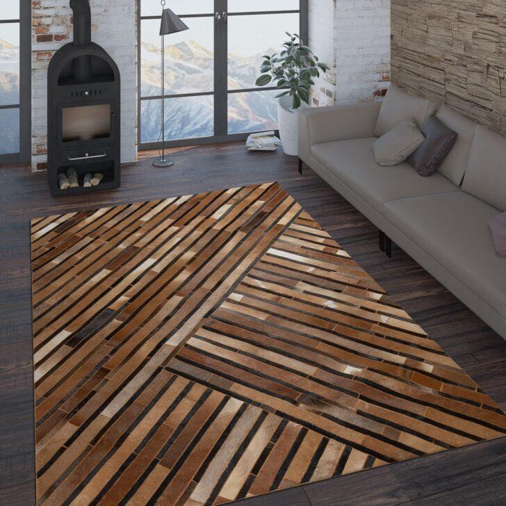 Medium Size of Teppich Wohnzimmer Modern Leder Wolle Muster Streifen In Braun Liege Moderne Landhausküche Deckenlampen Heizkörper Deckenstrahler Deckenleuchte Sofa Kleines Wohnzimmer Wohnzimmer Modern
