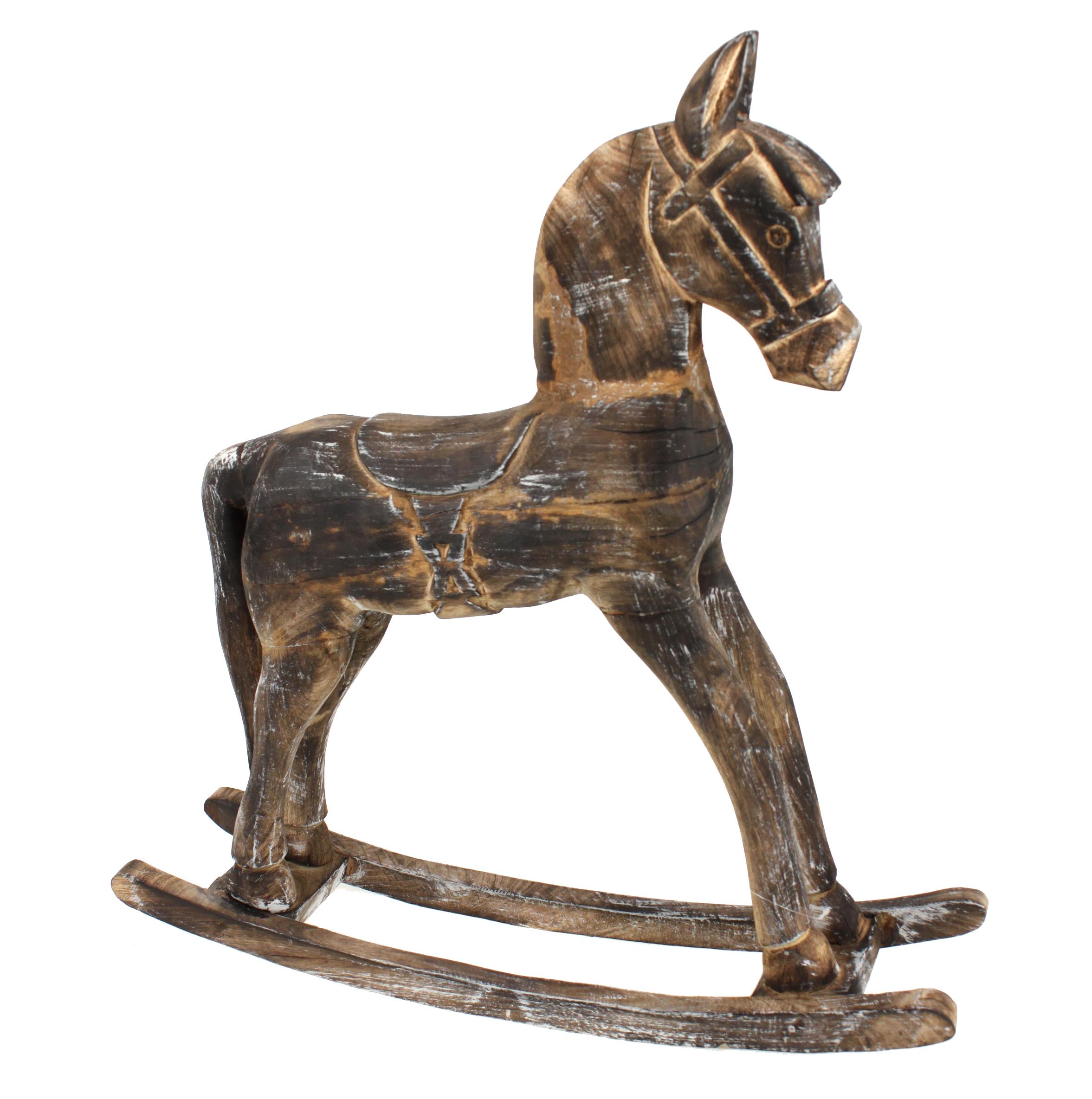 Full Size of Xl Deko Pferd Schaukelpferd Aus Holz Braun Look 59cm Kinderzimmer Regal Regale Sofa Weiß Kinderzimmer Kinderzimmer Pferd