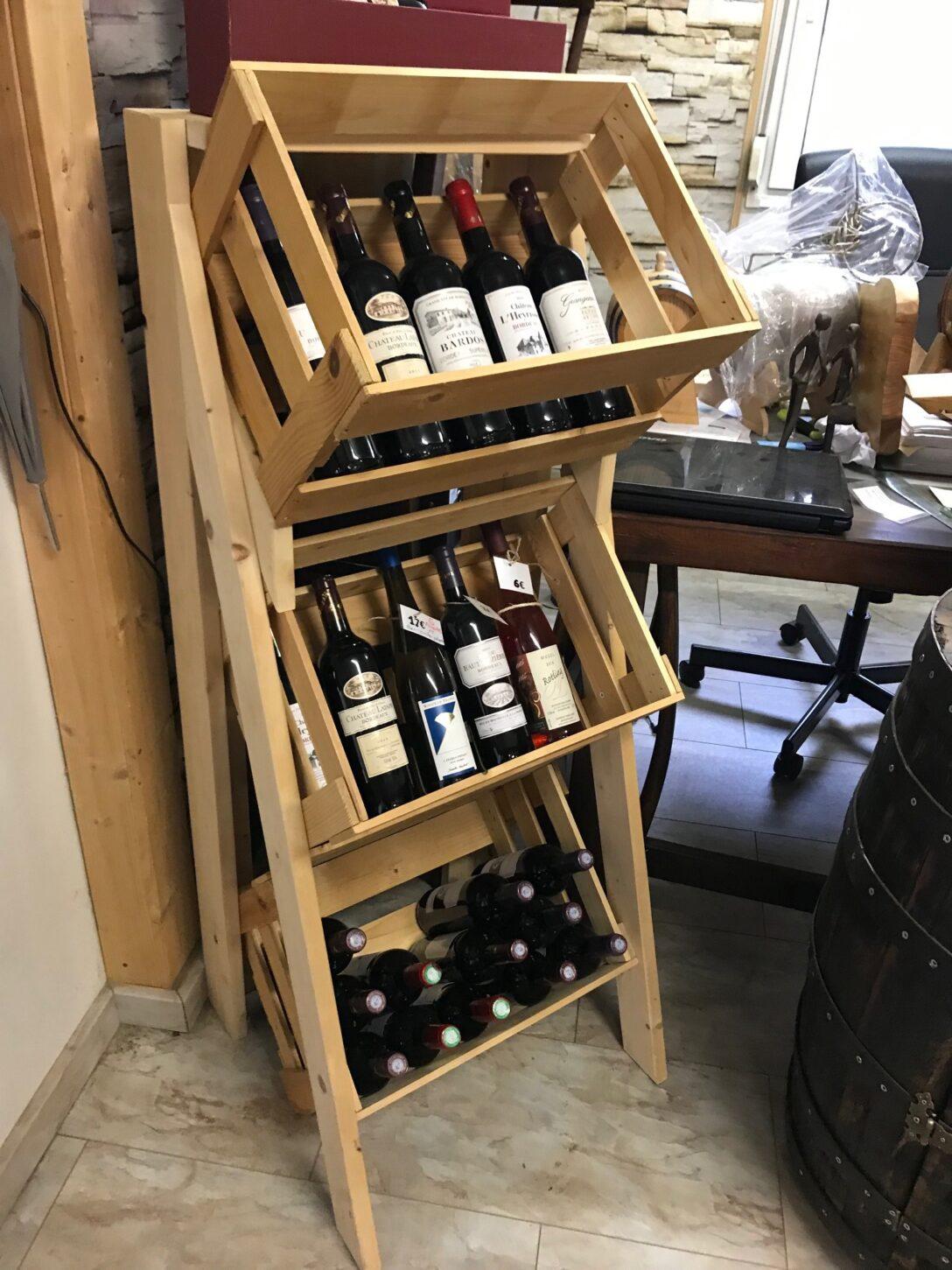 Large Size of Weinregal Kare Design Metall Klein Kallax Schwarz Weinregale Schweiz Ikea Flammen 3 Er Weinkiste Aufsteller Aus Neuen Abgeschliffenen Holz Regal Schräge Regal Wein Regal