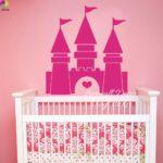 Kinderzimmer Prinzessin Kinderzimmer Prinzessin Schloss Prinzessinen Playmobil Prinzessinnen Komplett Gestalten Regal Weiß Sofa Bett Regale