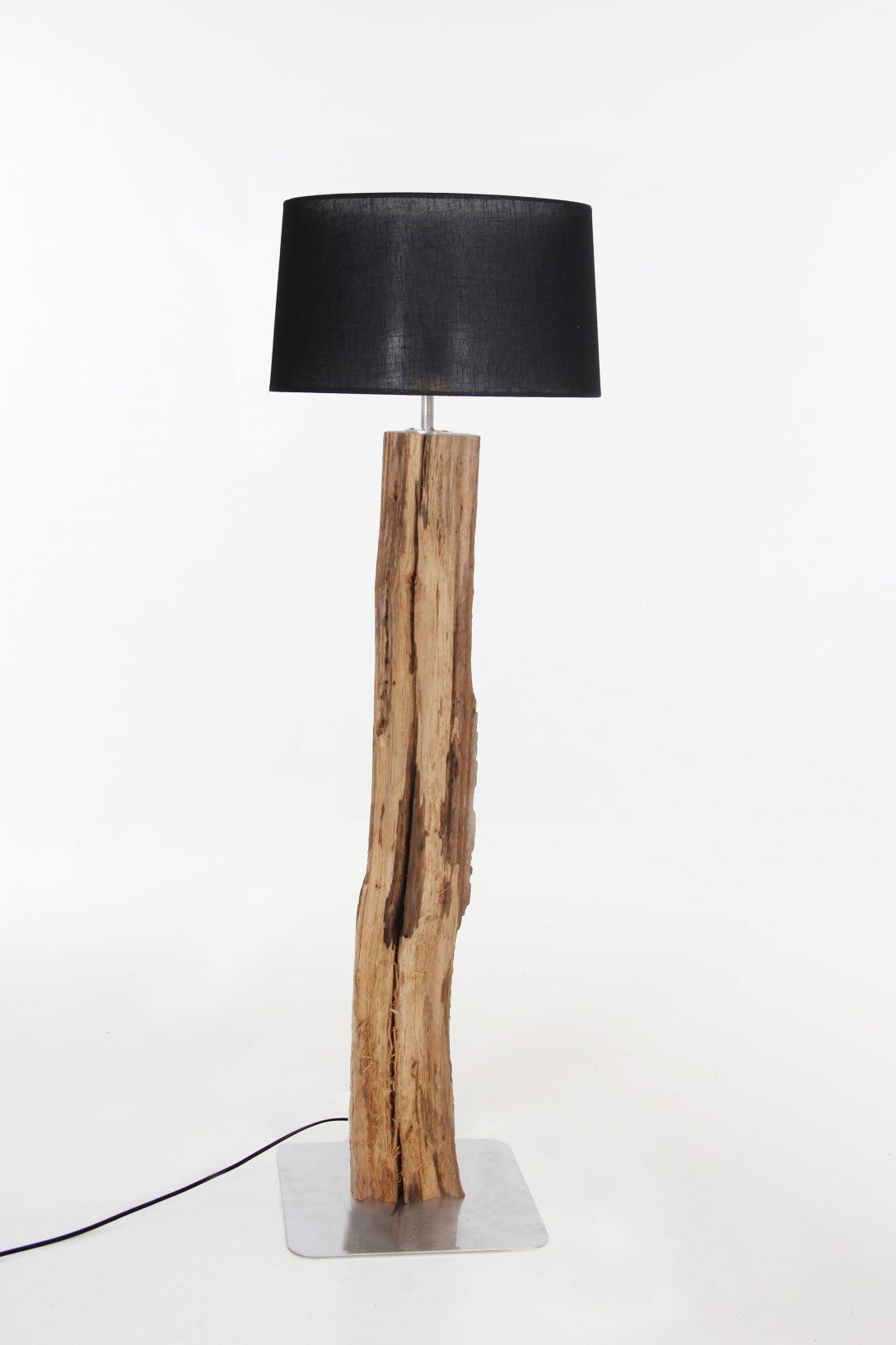 Large Size of Stehlampe Holz Schirm In Schwarz 135 Cm Detail Massivholz Betten Bett Schlafzimmer Regal Naturholz Esstisch Sichtschutz Garten Cd Küche Modern Stehlampen Wohnzimmer Stehlampe Holz