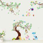 Wandtatoo Kinderzimmer Rainbow Fowandtattoo Wandsticker Eule Baum Giraffe Lwe Regale Regal Weiß Küche Sofa Kinderzimmer Wandtatoo Kinderzimmer
