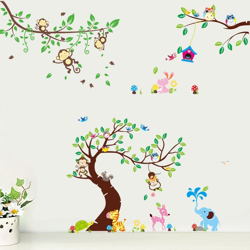 Full Size of Wandtatoo Kinderzimmer Rainbow Fowandtattoo Wandsticker Eule Baum Giraffe Lwe Regale Regal Weiß Küche Sofa Kinderzimmer Wandtatoo Kinderzimmer