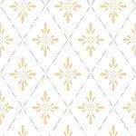 Tapete Küche Landhaus Duro 1900 Ljungbacka Yellow Dro 392 02 Mit Kochinsel Arbeitsplatten Spritzschutz Plexiglas Eckunterschrank Regal Weiß Nolte Glaswand Wohnzimmer Tapete Küche Landhaus