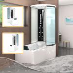 Badewanne Dusche Dusche Badewanne Dusche Kombination Auf Umbauen Glaswand Kombiniert Bilder Und Nebeneinander Erfahrungen Mit Duscholux Zur Barrierefrei Zu Kosten Villeroy Umbau