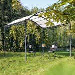 Gartenpavillon Metall Wohnzimmer Gartenpavillon Metall Pavillon Mit Festem Dach 3x4m Glas Geschlossen Wasserdicht 3x3 Meter Bersicht Regale Bett Regal Weiß