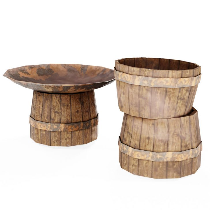 Medium Size of Outdoor Waschbecken 3d Modell 2 Unknown Stl Obj Fbc4d Blend Badezimmer Küche Edelstahl Keramik Kaufen Bad Wohnzimmer Outdoor Waschbecken