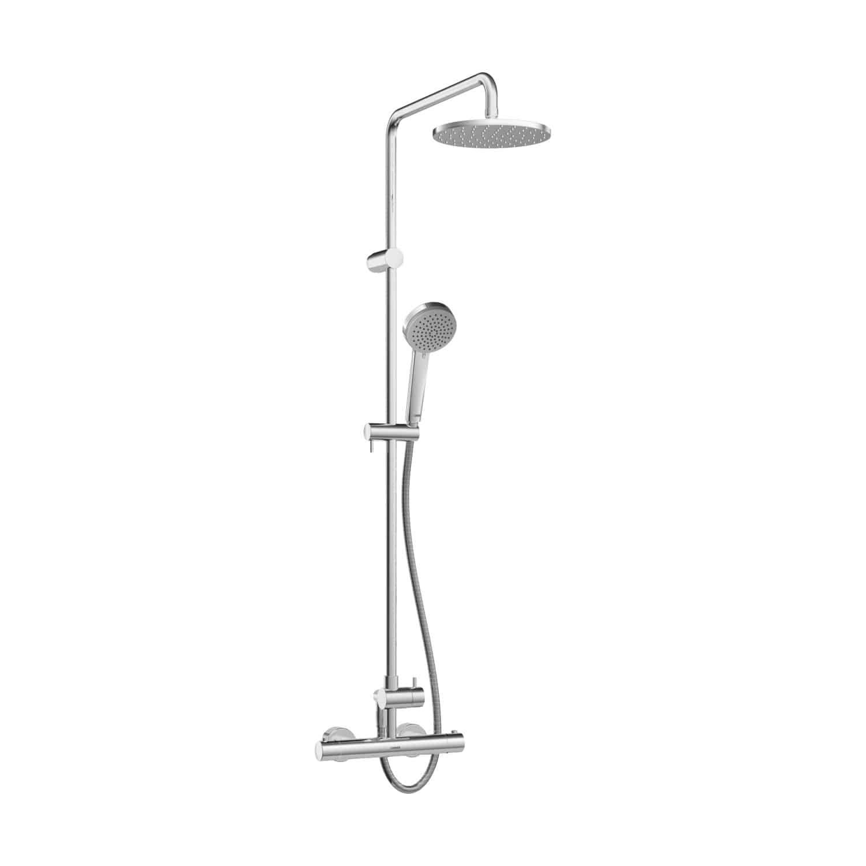 Full Size of Duschsäulen Wandmontiertes Duschsystem Modern Thermostatisch Mit Dusche Duschsäulen