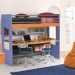 Kinderzimmer Hochbett Kinderzimmer Kinderzimmer Hochbett Fr Mit Schreibtisch Traum Mbelcom Regale Regal Sofa Weiß