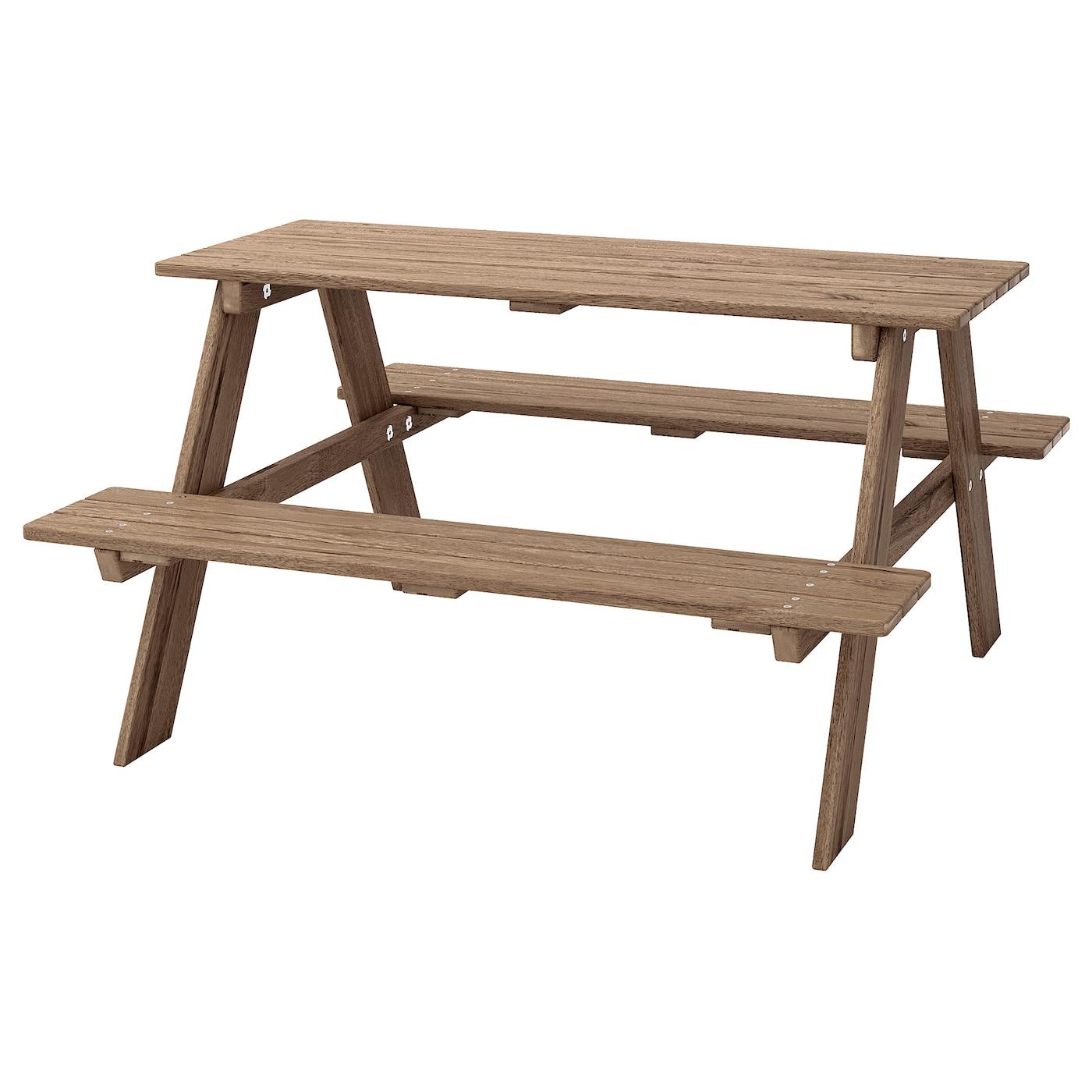 Full Size of Ikea Gartentisch Res Picknicktisch Fr Graubraun Lasiert Küche Kosten Kaufen Modulküche Miniküche Betten Bei 160x200 Sofa Mit Schlaffunktion Wohnzimmer Ikea Gartentisch
