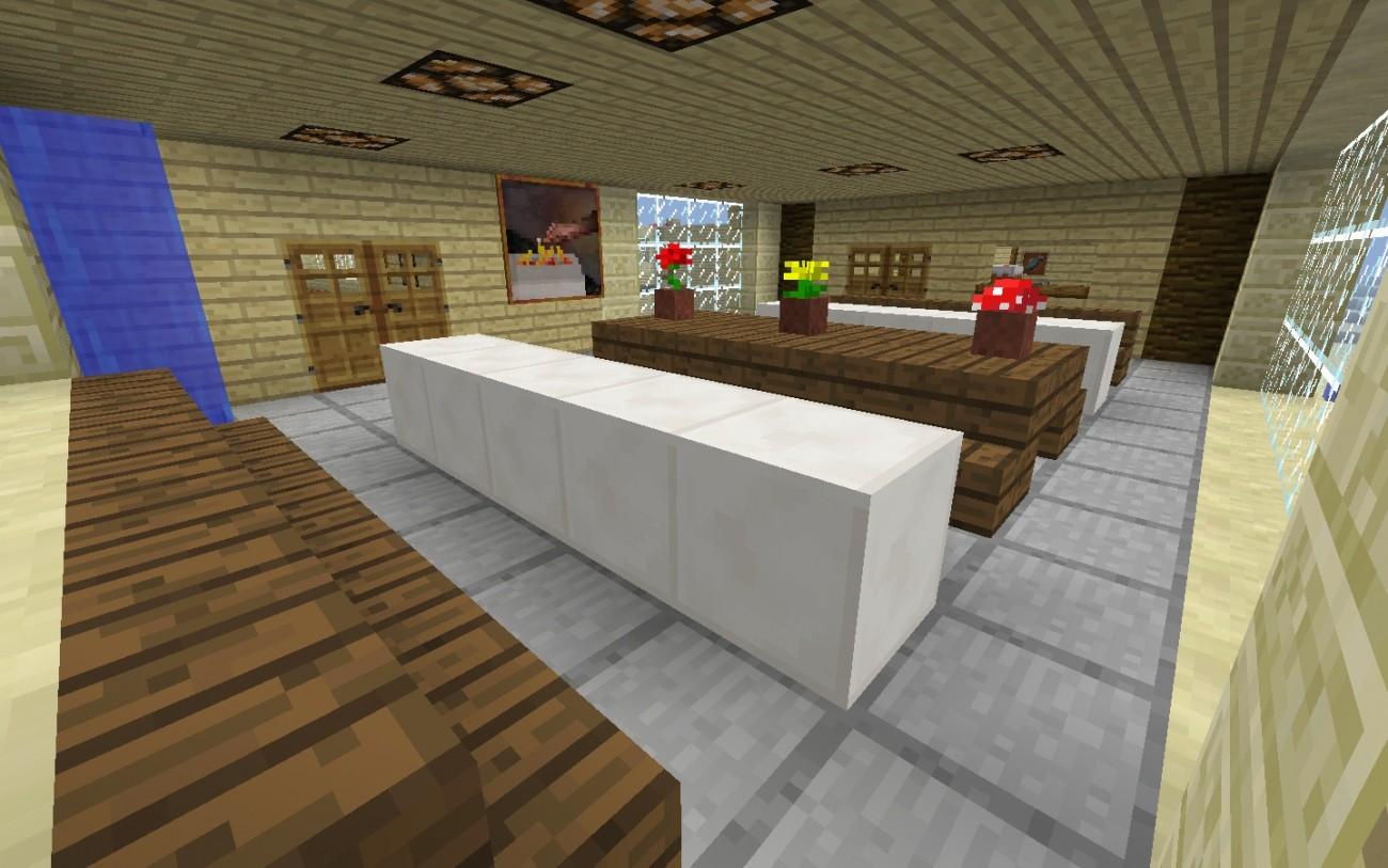 Full Size of Minecraft Küche Esszimmer In Bauen Bauideende Bodenbelag Glasbilder Sitzecke Ikea Kosten Komplettküche Wanddeko Zusammenstellen Kaufen Abluftventilator Wohnzimmer Minecraft Küche