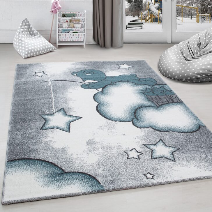 Medium Size of Teppiche Kinderzimmer Kinderteppich Teppich Br Wolken Stern Angeln Grau Regal Weiß Sofa Regale Wohnzimmer Kinderzimmer Teppiche Kinderzimmer