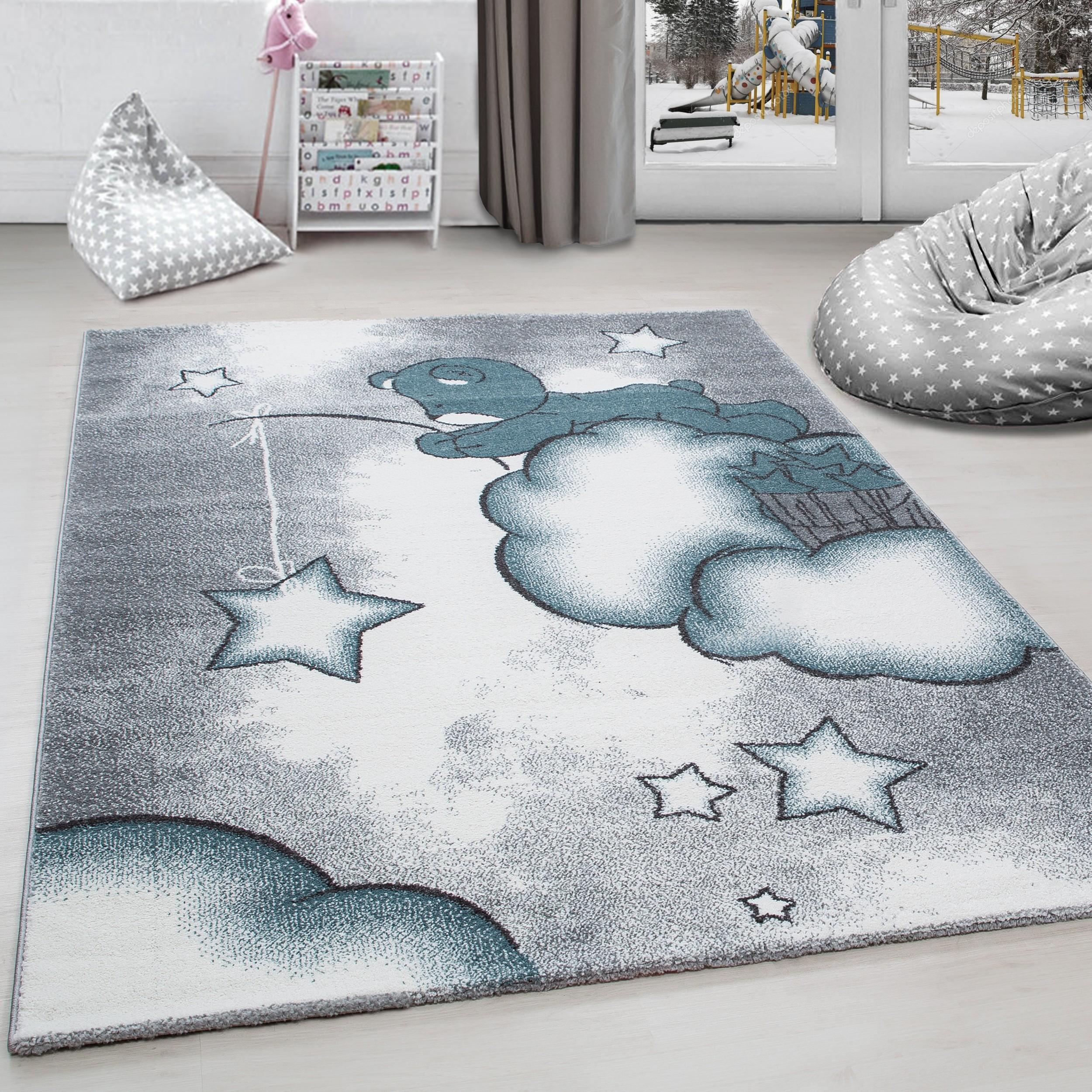 Full Size of Teppiche Kinderzimmer Kinderteppich Teppich Br Wolken Stern Angeln Grau Regal Weiß Sofa Regale Wohnzimmer Kinderzimmer Teppiche Kinderzimmer