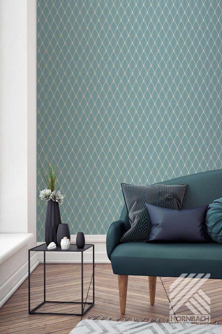 Medium Size of Tapeten Trends 2020 Wohnzimmer Vliestapete 103116 Kabuki Bercy Blau In Einrichtungsideen Teppich Stehleuchte Led Deckenleuchte Vinylboden Decken Gardinen Wohnzimmer Tapeten Trends 2020 Wohnzimmer