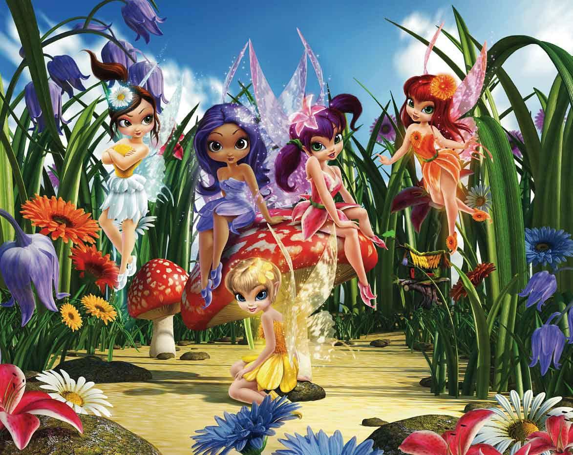 Full Size of Fototapete Blumen Elfen Feen Tapetenwelt Fototapeten Wohnzimmer Schlafzimmer Küche Fenster Wohnzimmer Fototapete Blumen