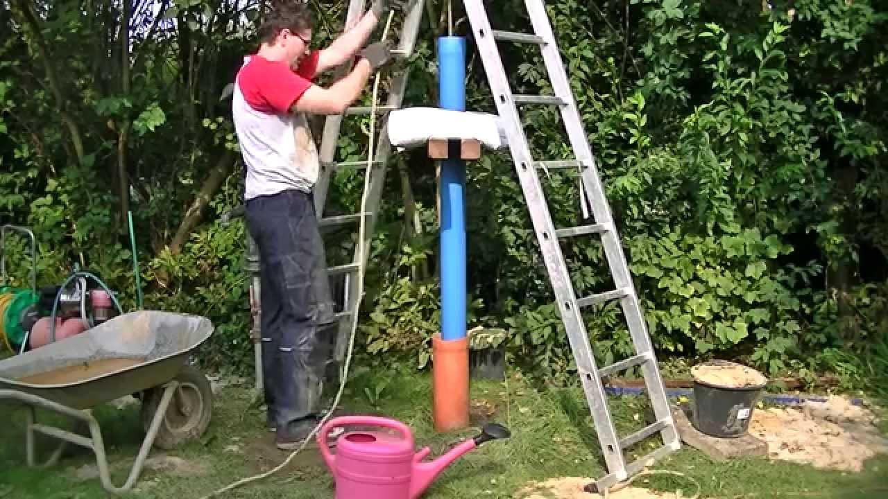 Full Size of Brunnen Bohren Brunnenrohr Einplunschen Youtube Bodengleiche Dusche Einbauen Im Garten Fenster Rolladen Nachträglich Einbauküche Selber Bauen Kosten Pool Wohnzimmer Brunnen Selber Bauen