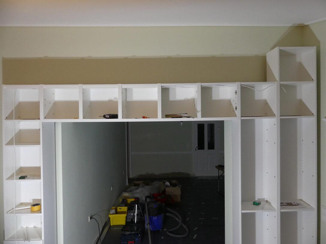 Large Size of Schritt 1 Der Anfang Bauarbeiten The Ikea Billy Project Regal Für Dachschräge Regale Aus Europaletten Gebrauchte 30 Cm Breit Tisch Kombination Weißes Regal Regal Zum Aufhängen