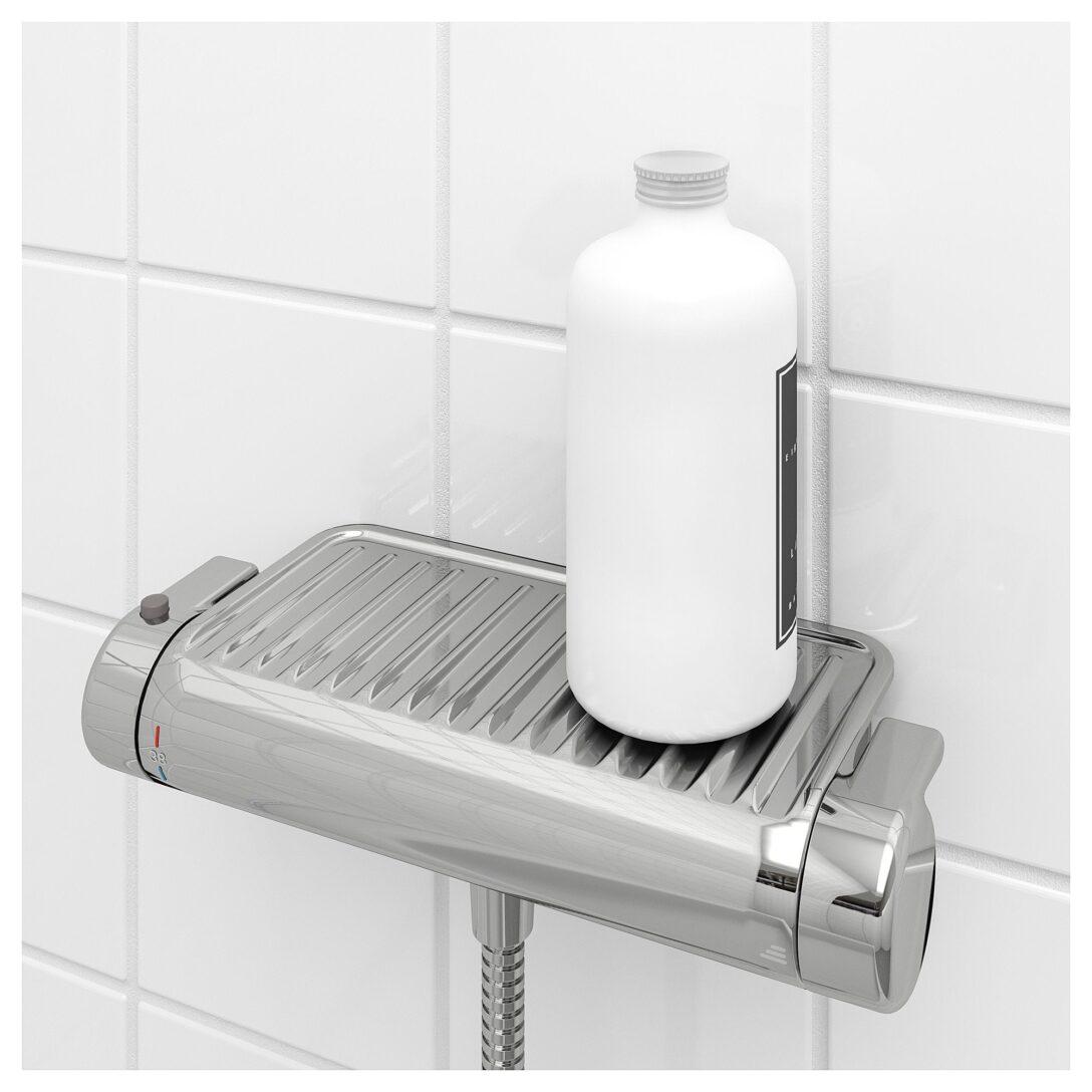 Large Size of Dusche Mischbatterie Voxnan Thermostat Verchromt Ikea Begehbare Fliesen Wand Bodengleiche Einbauen Badewanne Abfluss Kaufen Hüppe Duschen Walkin Glaswand Dusche Dusche Mischbatterie