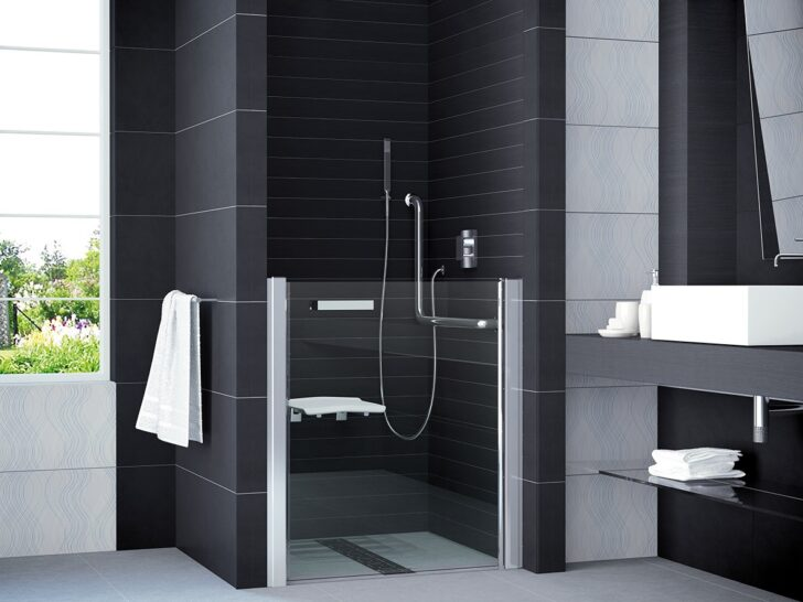 Medium Size of Dusche Nischentür Hsk Duschen Eckeinstieg Unterputz Armatur Mischbatterie Bodengleiche Ebenerdig Glasabtrennung Sprinz Abfluss Behindertengerechte Küche Dusche Behindertengerechte Dusche