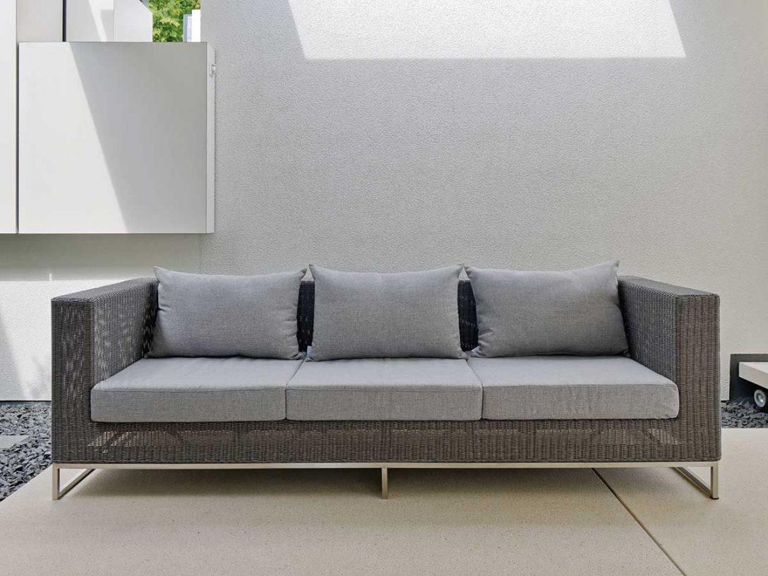 Large Size of Lounge Sofa Outdoor Wetterfest Couch Ikea Stern Gartensofa Loungesofa 3 Sitzer Fontana Geflecht Basaltgrau Mit Schlaffunktion Dauerschläfer Küche Kaufen Wohnzimmer Outdoor Sofa Wetterfest